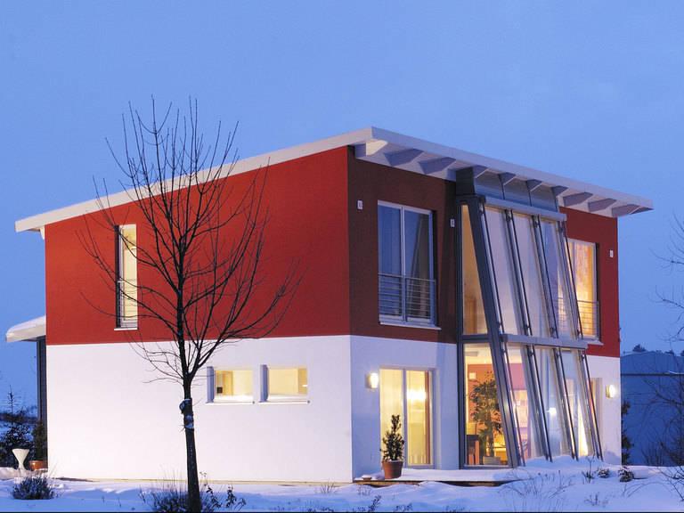 Musterhaus Vita 147 - HANSE-HAUS Musterhaus Vita 147 im Winter