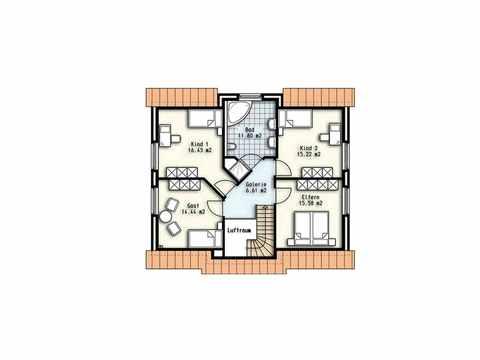 Haus Kapella - OLFA-Haus GmbH Grundriss DG