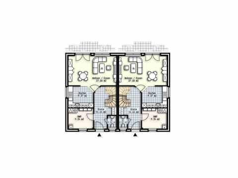 Doppelhaushälfte Husum - OLFA-Haus GmbH Grundriss EG