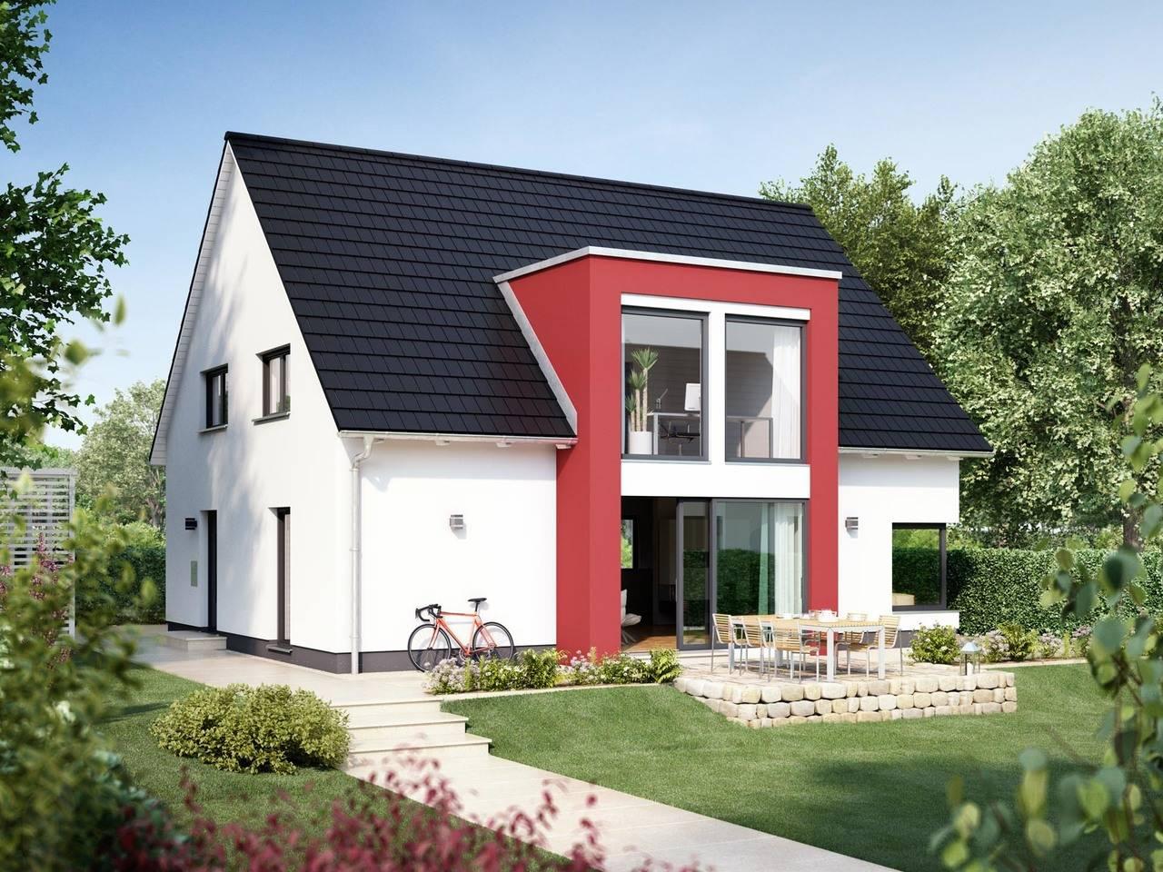 Einfamilienhaus KLASSIK 2000.2 von Deutsche Bauwelten