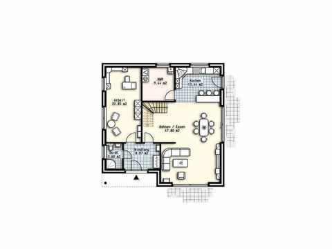 Haus Paris - OLFA-Haus GmbH Grundriss DG