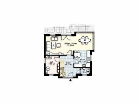 Haus Polaris 6 - OLFA-Haus GmbH Grundriss EG