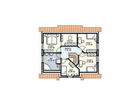 Haus Pallas - OLFA-Haus GmbH Grundriss DG