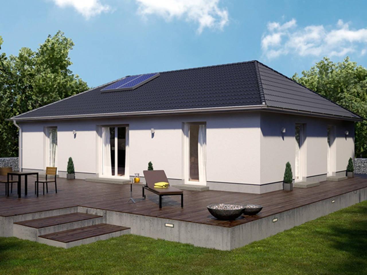 Bungalow Ideal 1000.2 von Deutsche Bauwelten