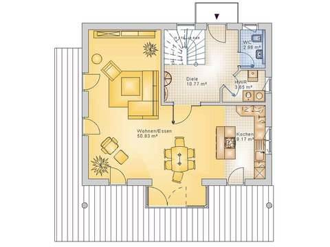 Econ Haus 10-017 Grundriss EG