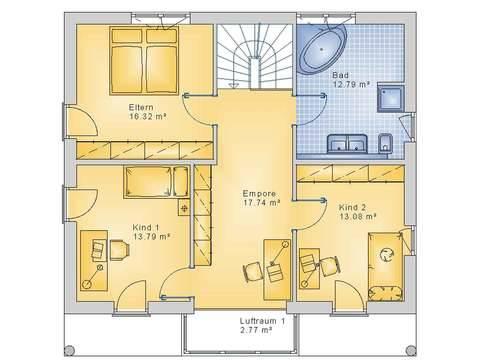 Econ Haus 10-017 Grundriss OG