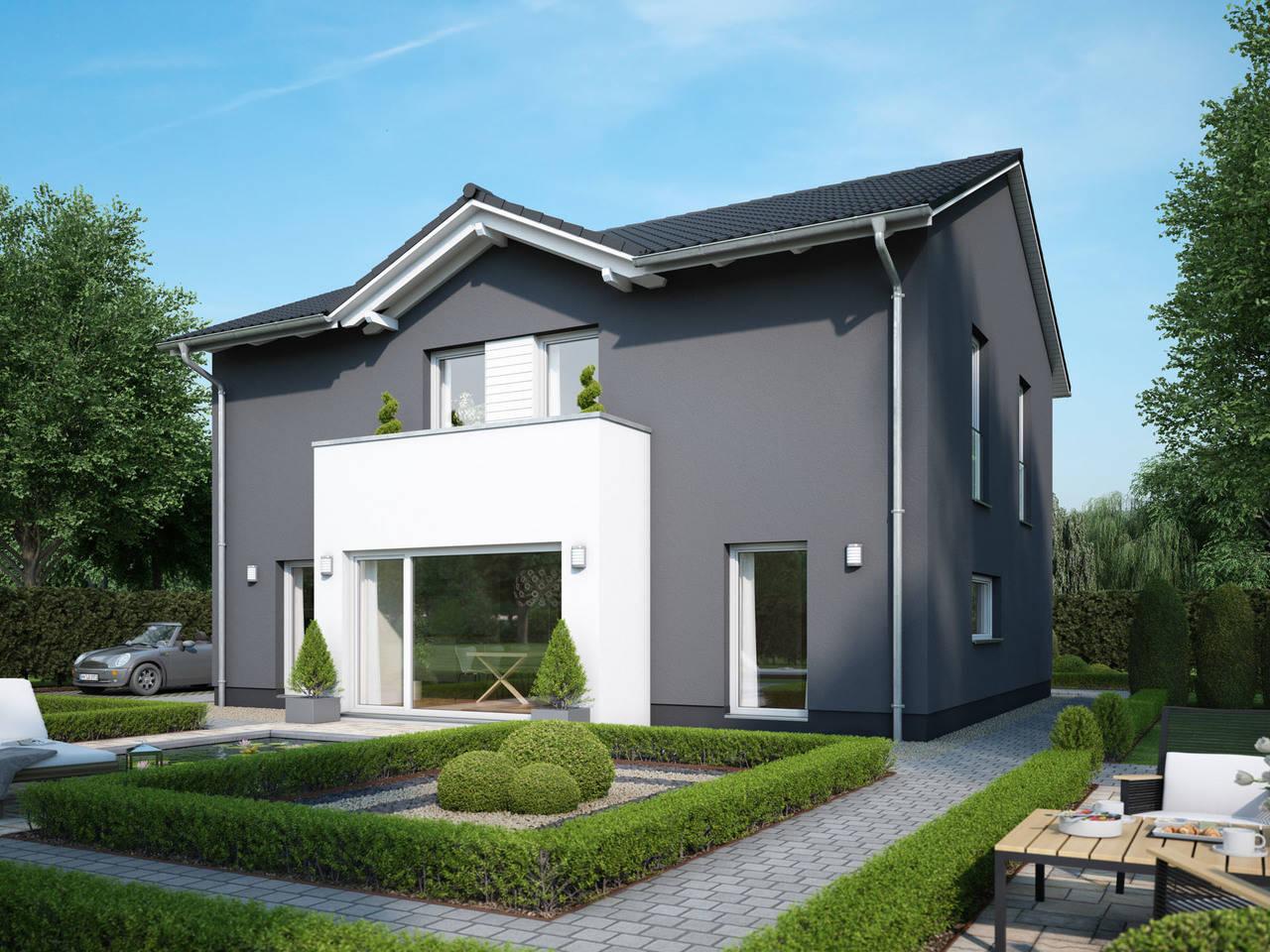 Einfamilienhaus VARIANT 2000.2 von Deutsche Bauwelten