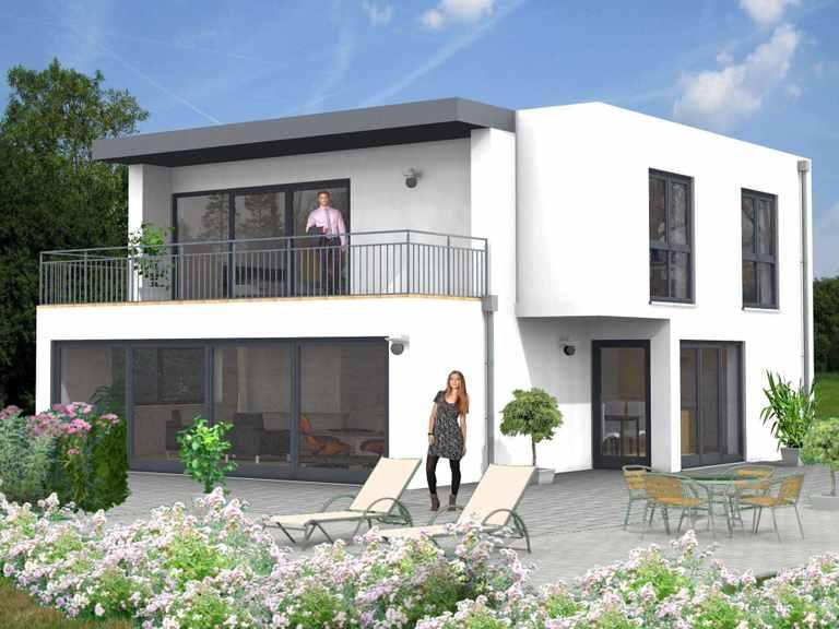 Econ Haus - Bauhaus Niederfell 10-023