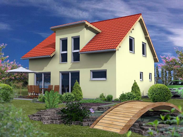 Rötzer Ziegel Element Haus Simply Clever 120 gelb
