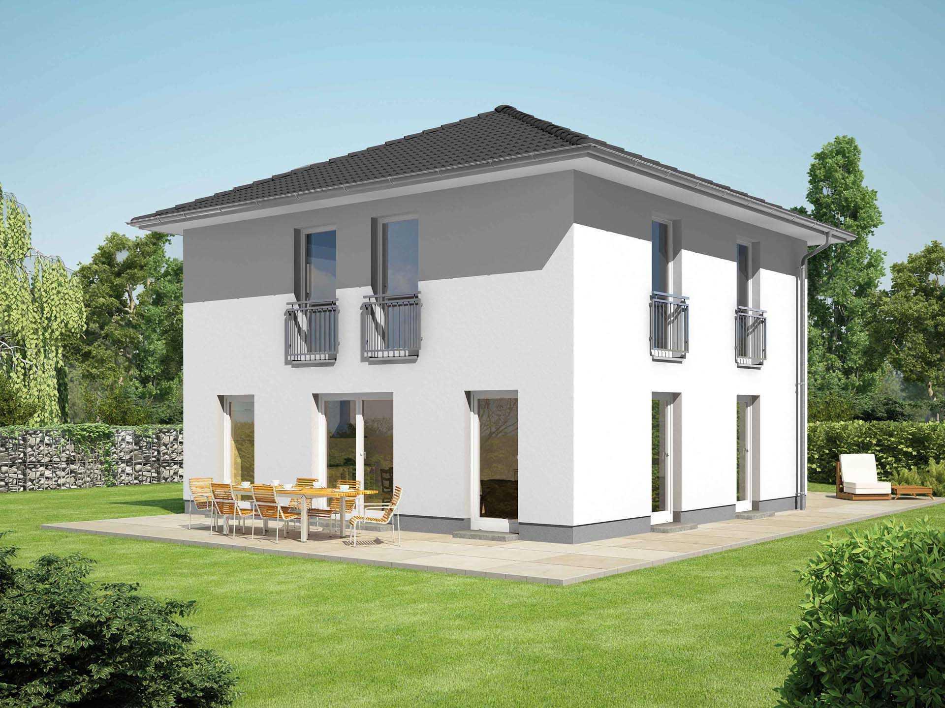 Moderne häuser zeltdach  Zeltdach-Haus: Informationen und Tipps | Musterhaus.net
