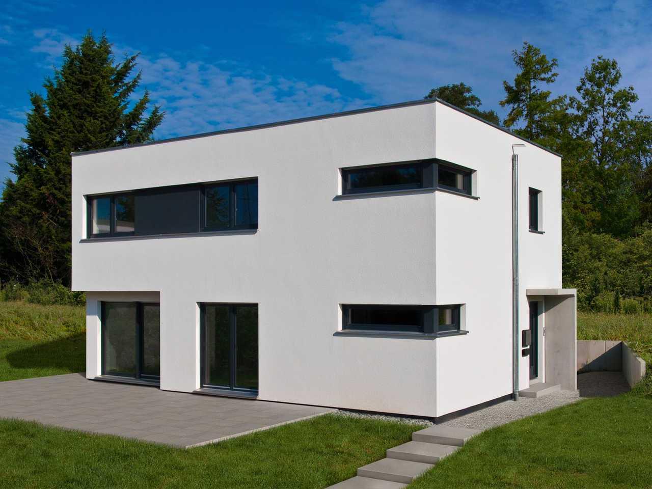 Bauhaus Grether Fertighaus WEISS