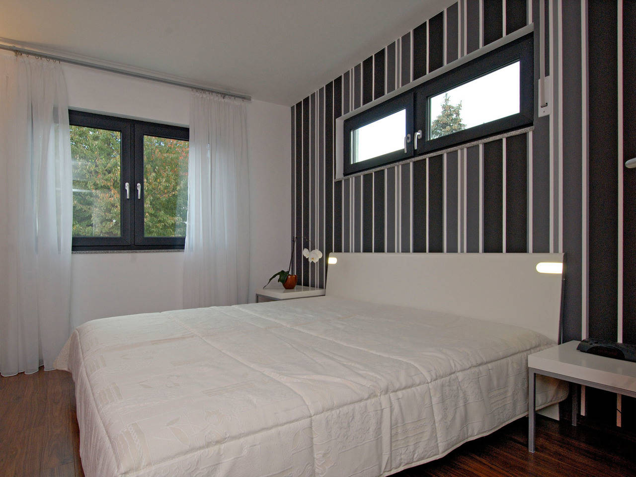 Haus Becker Fertighaus Weiss Schlafzimmer