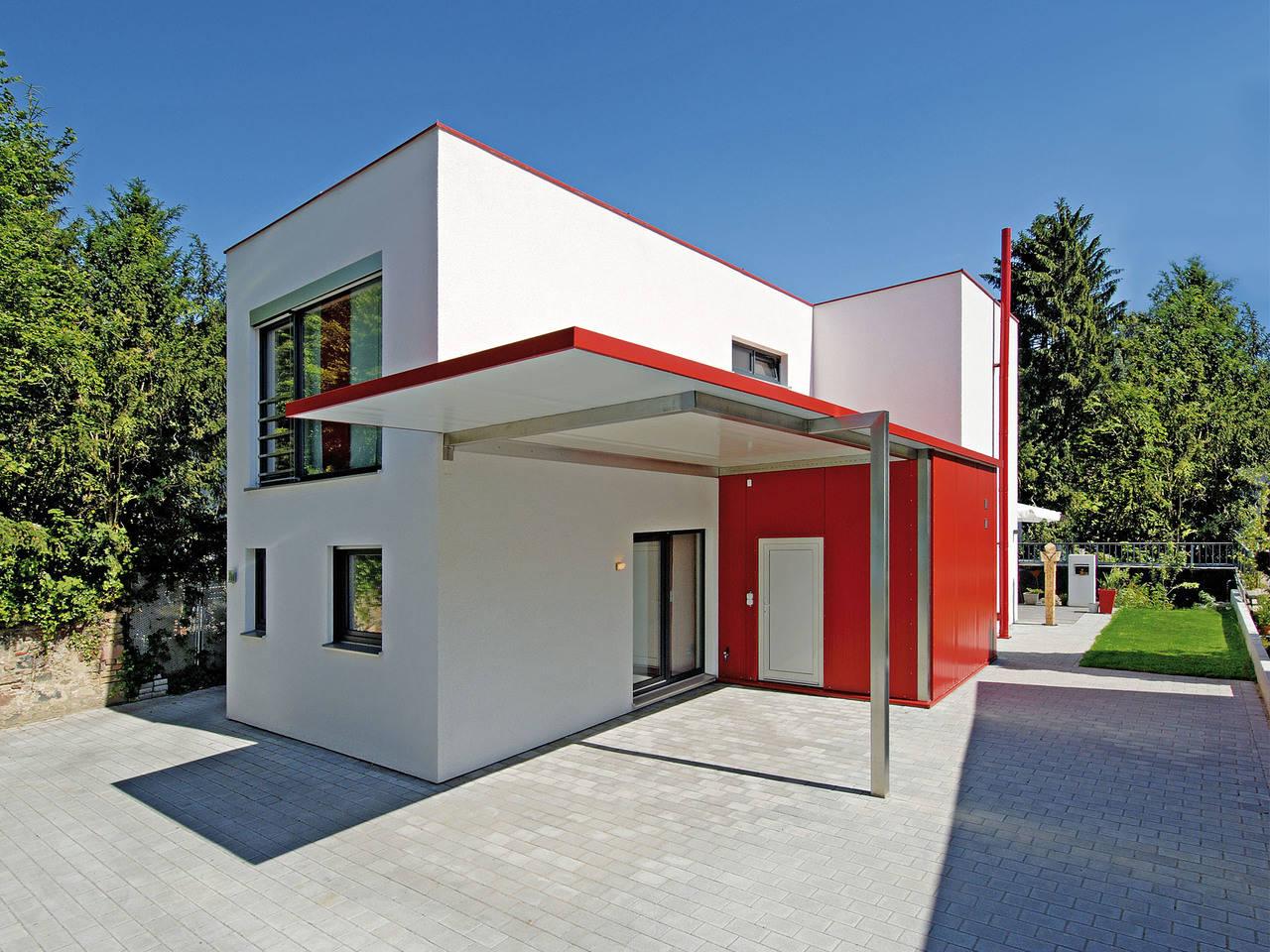 Haus Dorstewitz Fertighaus Weiss