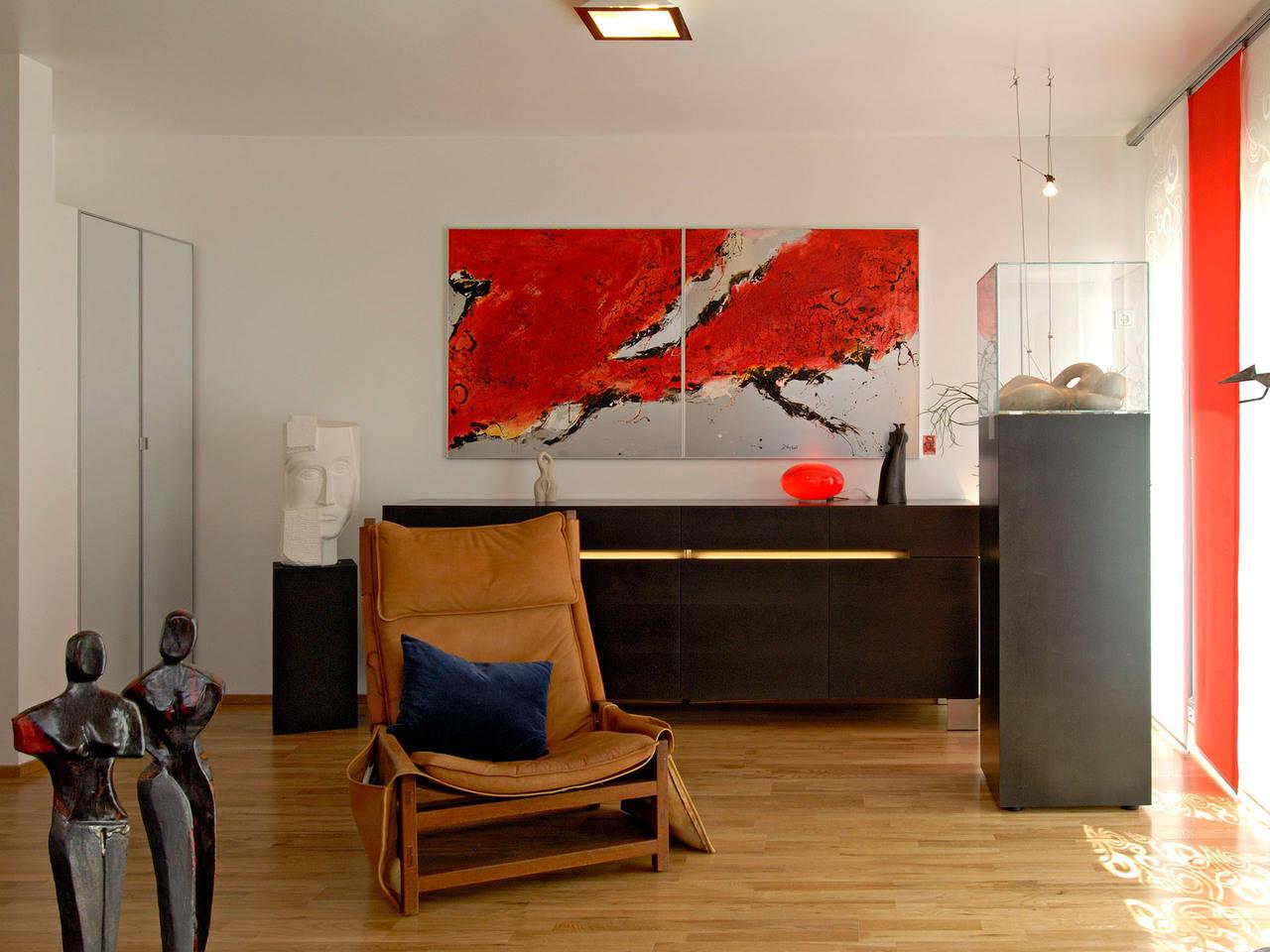 Haus Dorstewitz Fertighaus Weiss Arbeitszimmer