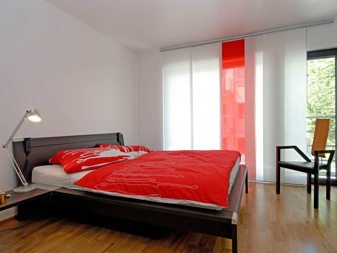 Haus Dorstewitz Fertighaus Weiss Schlafzimmer