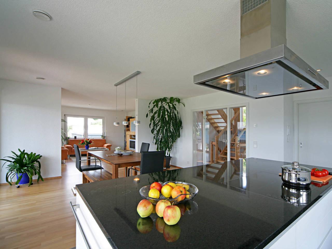 Haus Munk Küche Fertighaus Weiss
