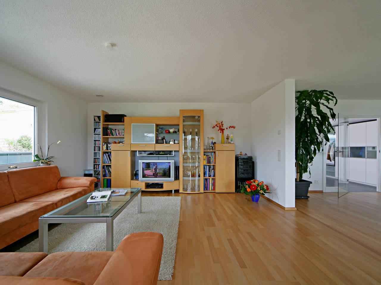 Haus Munk Wohnzimmer Fertighaus Weiss