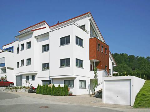 Haus Koch Fertighaus Weiss