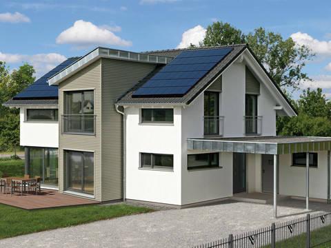 Musterhaus Erlangen Fertighaus Weiss