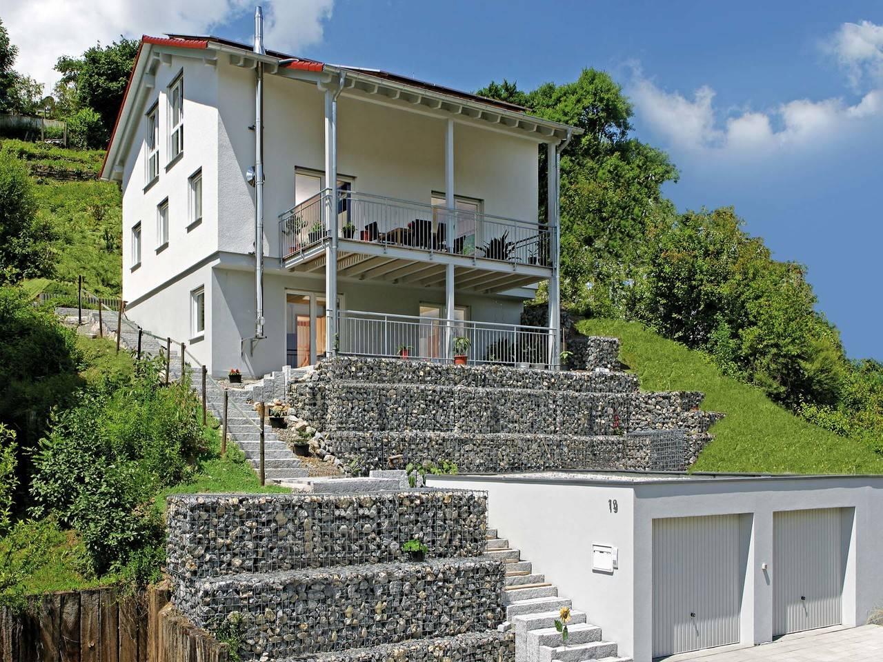 Fertighaus Weiss Mehrgenerationenhaus Vollmer-Kientsch