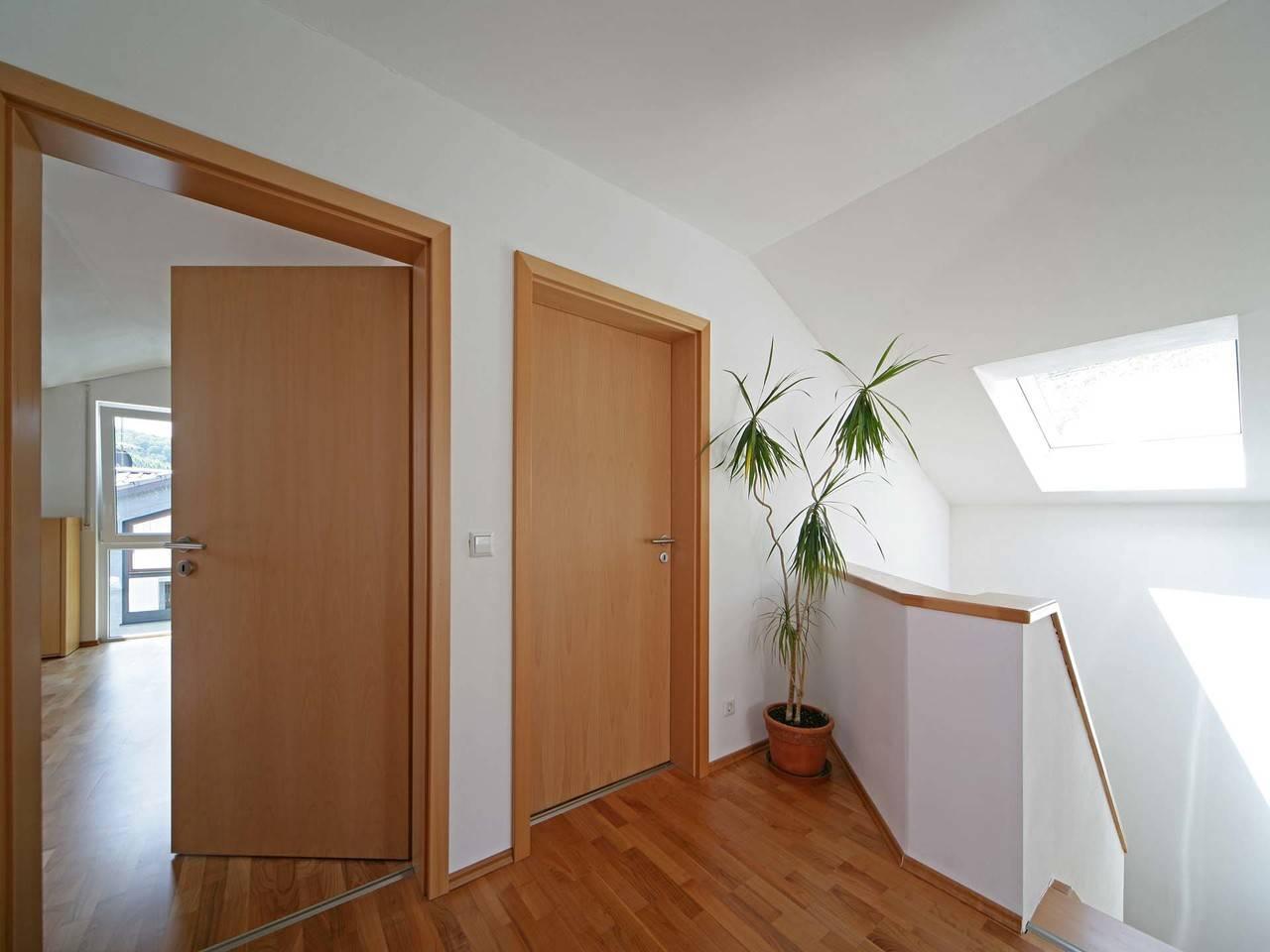 Fertighaus Weiss Mehrgenerationenhaus Vollmer-Kientsch Flur