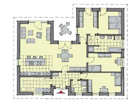 bungalow meran panorama gussek haus. Black Bedroom Furniture Sets. Home Design Ideas