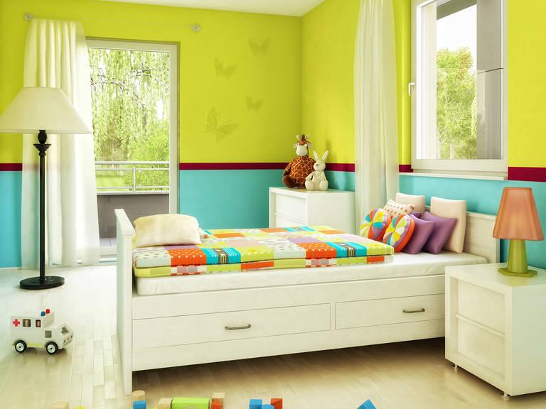 Bien-Zenker Evolution 116 V8 Einfamilienhaus Kinderzimmer