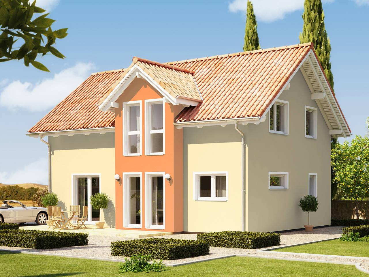 Evolution 135 V2 - Einfamilienhaus von Bien-Zenker Verblendfassade