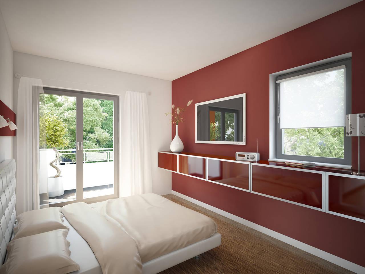 Bien-Zenker Evolution 135 V2 Einfamilienhaus Schlafzimmer