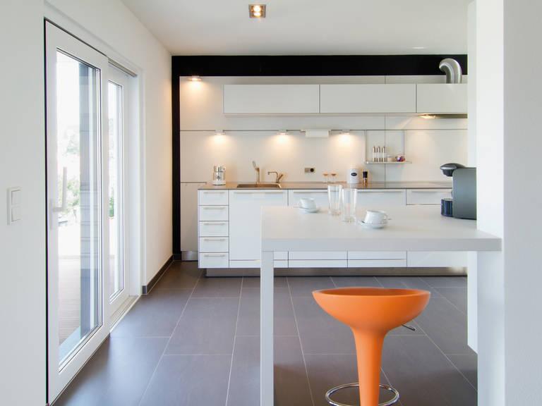 Kubus Haus Ligno - Fingerhut Haus Küche: Diele