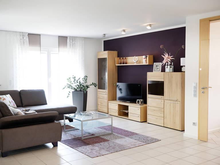 Musterhaus Bad Vilbel - Fingerhut Haus Wohnzimmer: Fernseher