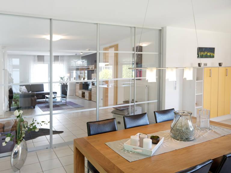 Musterhaus Bad Vilbel - Fingerhut Haus Wohn- und Esszimmer