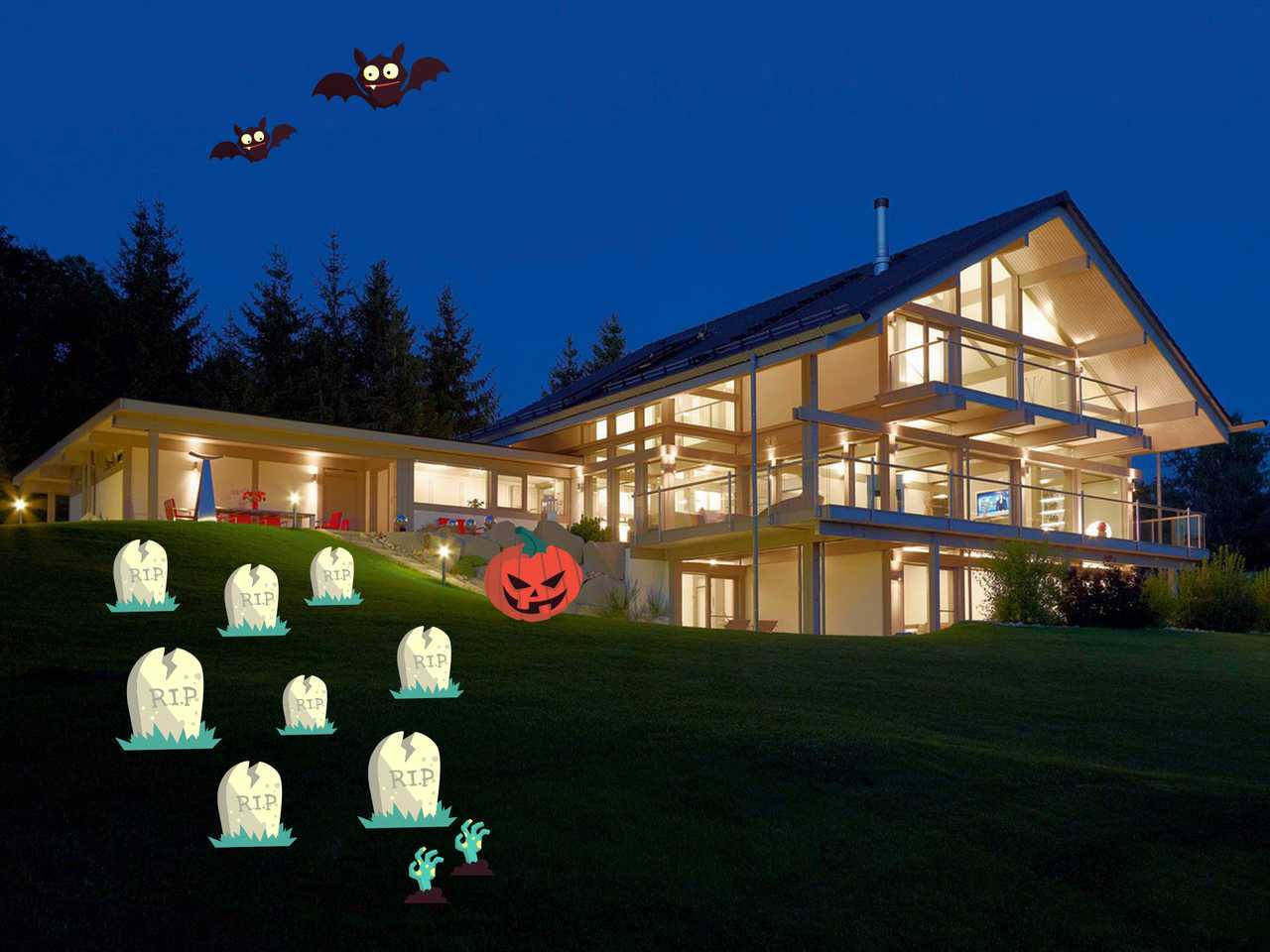 HUF Haus ART 5 Projektbeispiel 2 Halloween