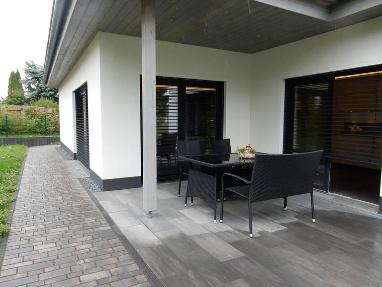 HSE Musterhaus Ilmenau Terrasse