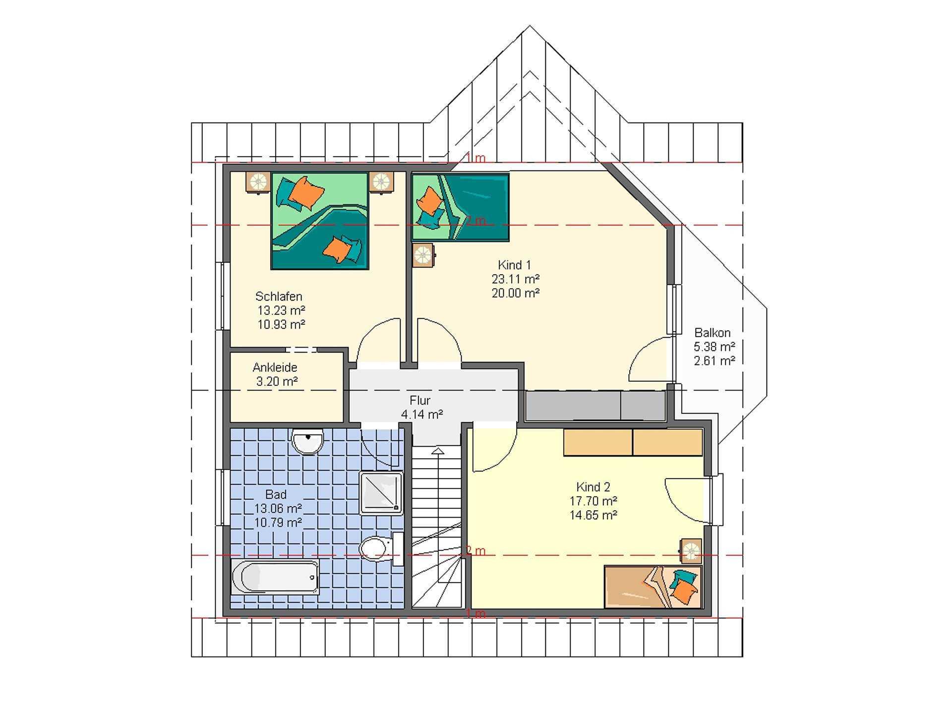 HSE Massivhaus Haustyp Susi 3