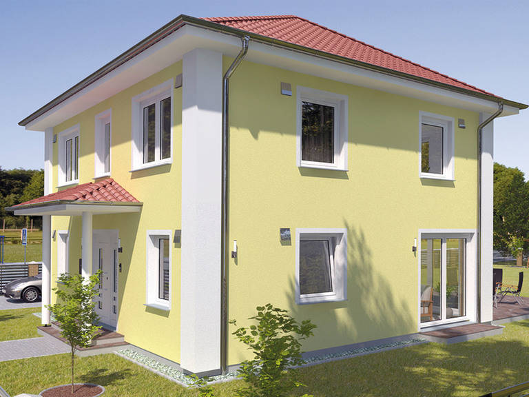 Stadthaus VarioCity 124 - HSE Massivhaus
