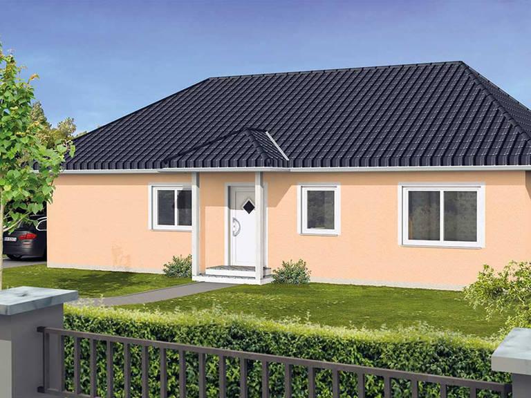 Bungalow VarioClassic 106 - HSE Massivhaus