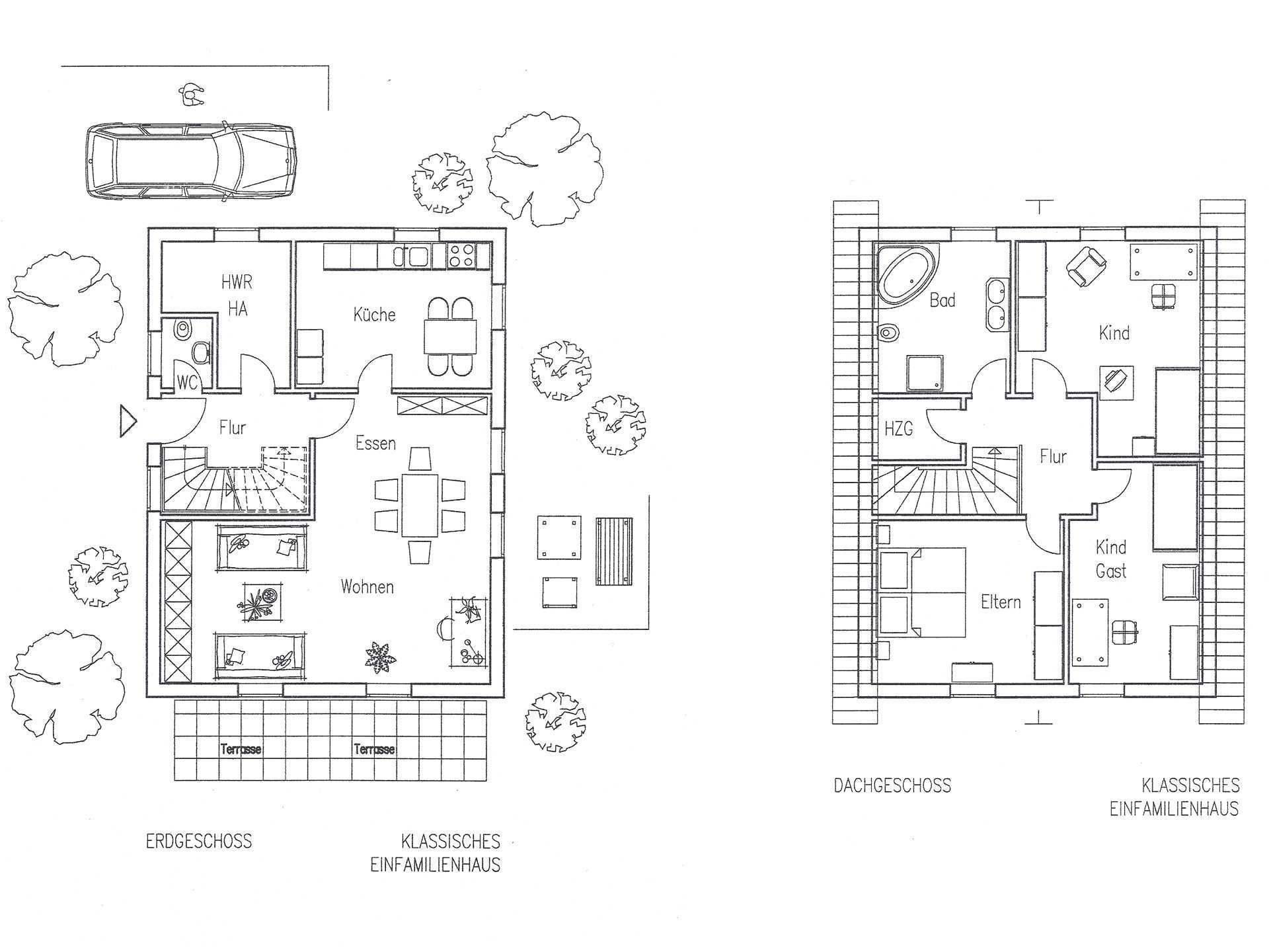 Landhaus 126 Grundriss von Flagmeier Haus