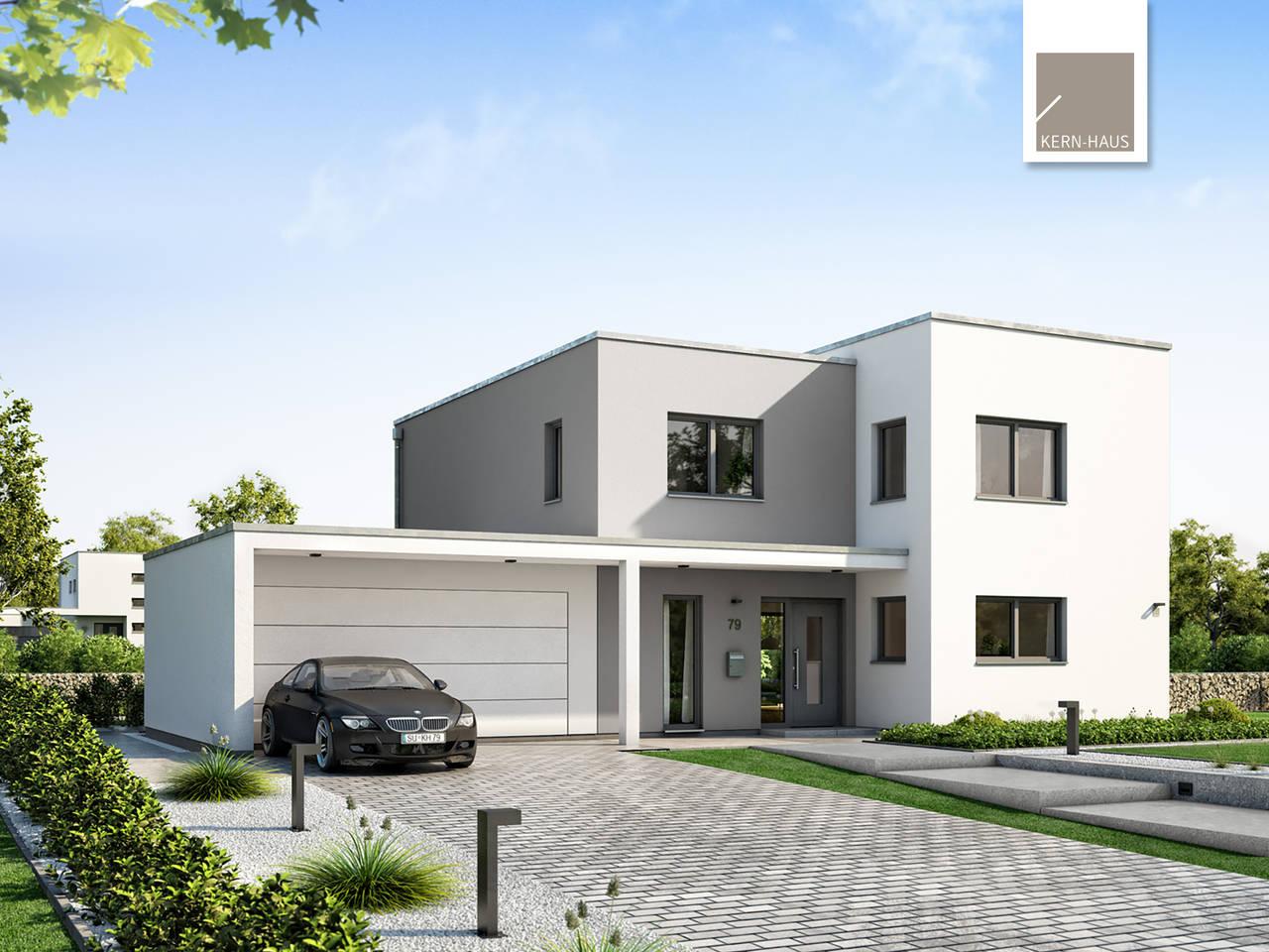 Bauhaus Futura von Kern-Haus Aussenansicht