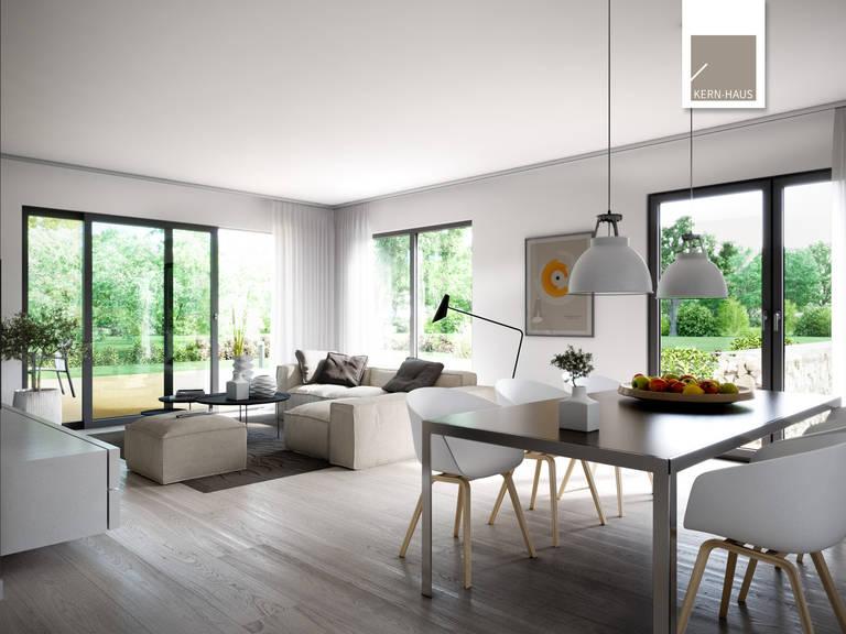 Bauhaus Futura von Kern-Haus Wohnzimmer