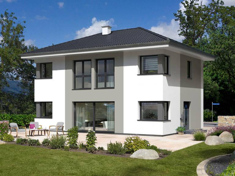 stadtvilla trend 146 w hartl haus holzindustrie. Black Bedroom Furniture Sets. Home Design Ideas
