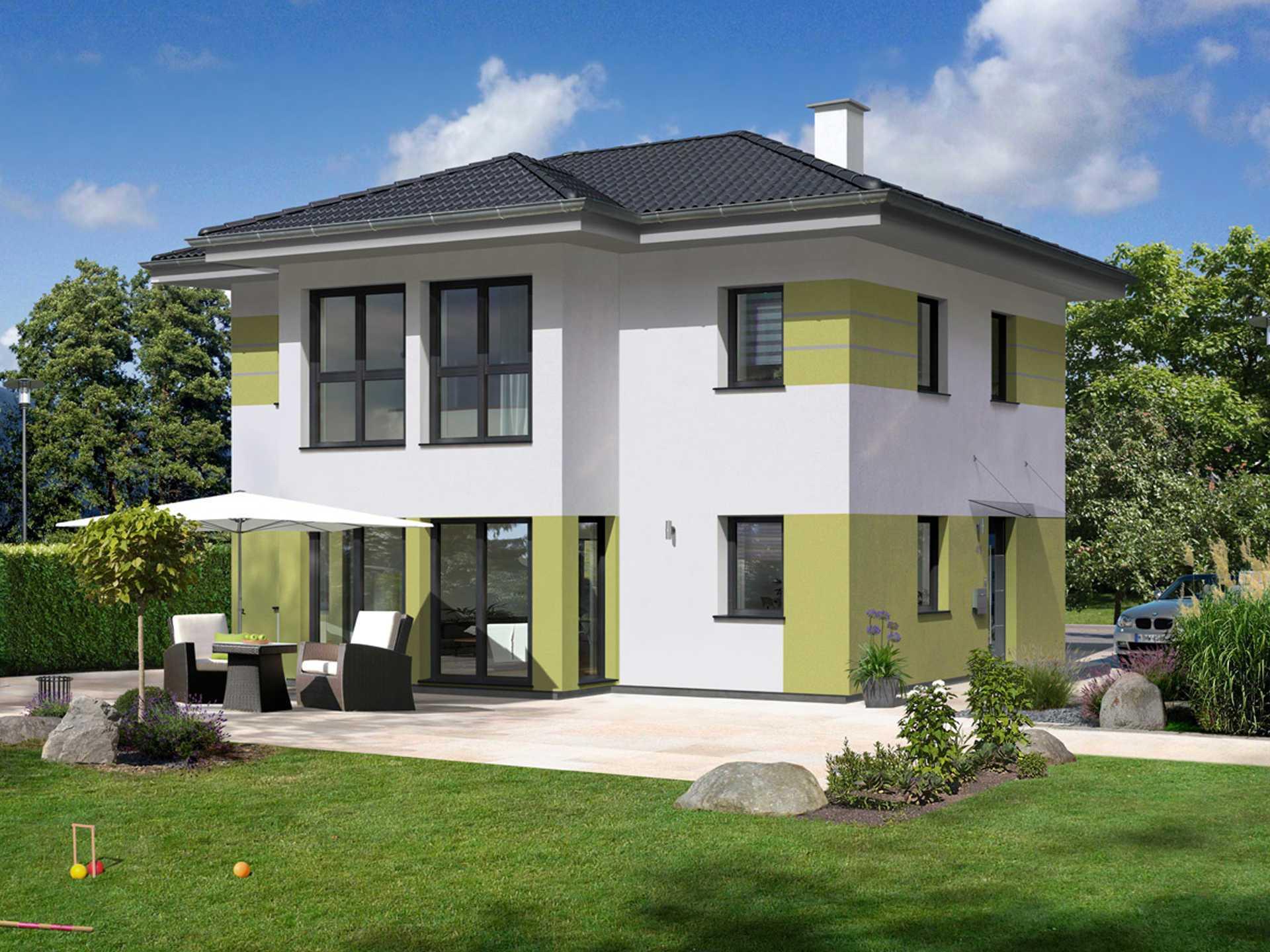 Stadtvilla trend 140 w hartl haus holzindustrie for Stadtvilla zweifamilienhaus