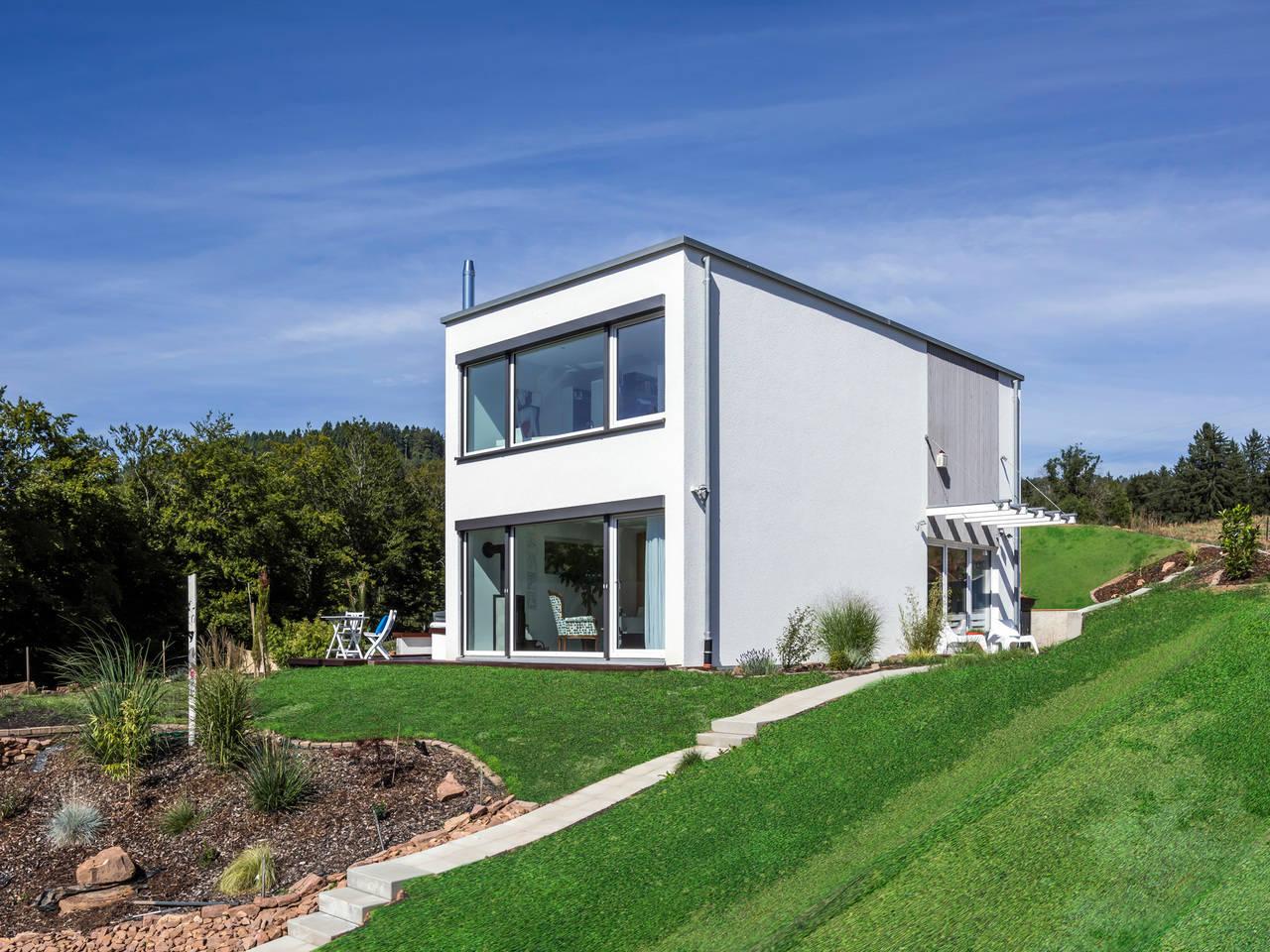 Kitzlingerhaus Bettenhausen - Seitliche Ansicht
