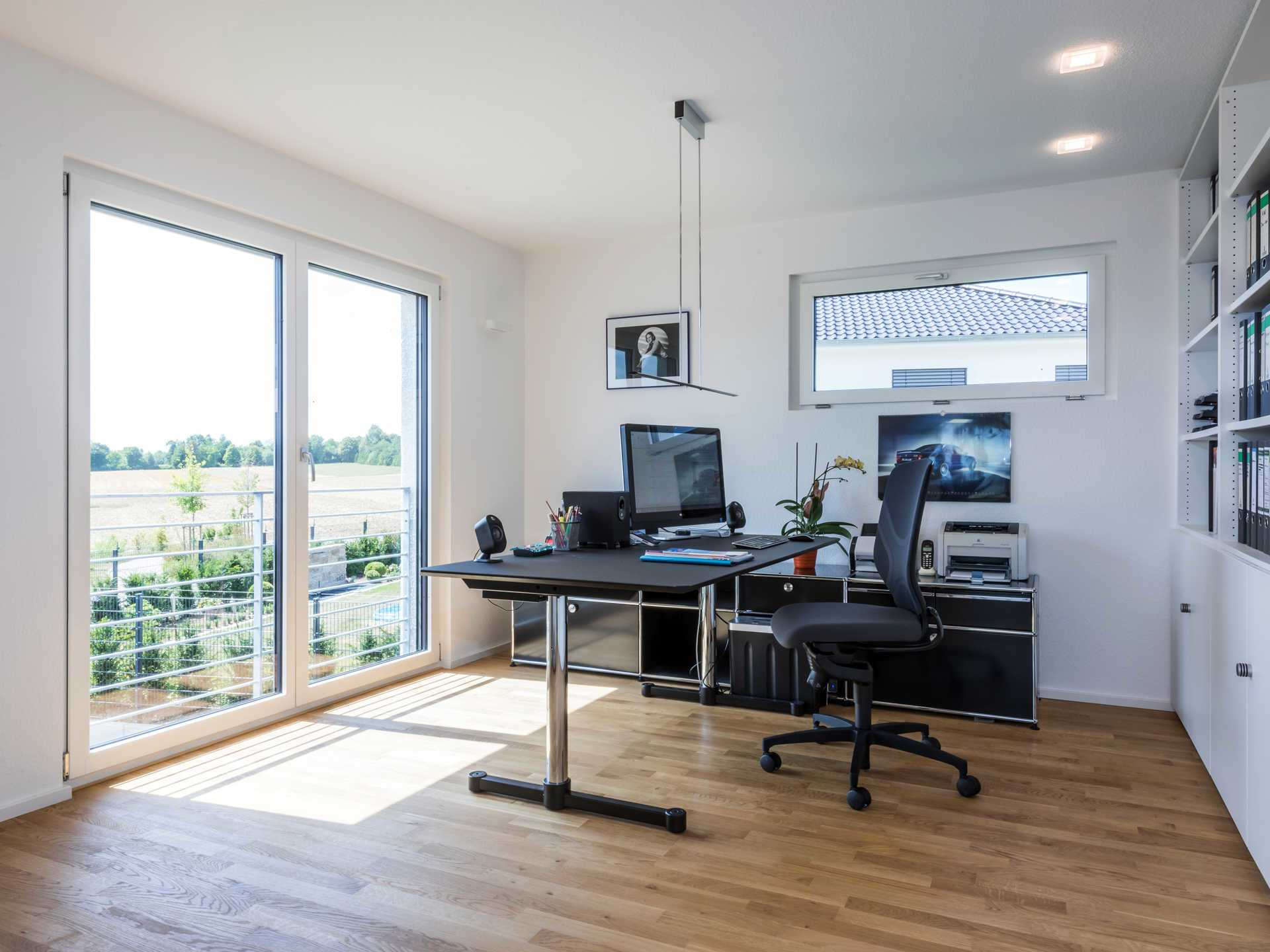 35 Modern Home Office Design Ideas: Bauhausstil Empfingen