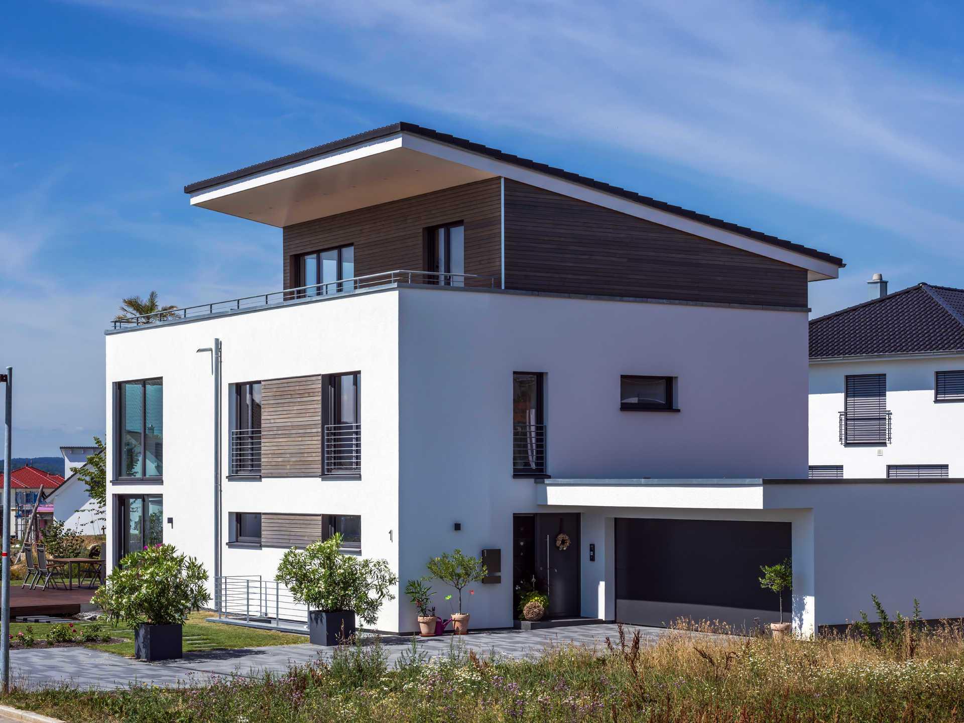 Bauhausstil Empfingen Kitzlingerhaus Musterhaus Net