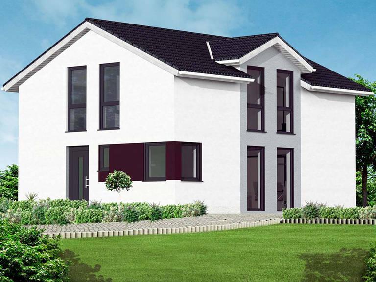 Massive Wohnbau Einfamilienhaus Vanessa