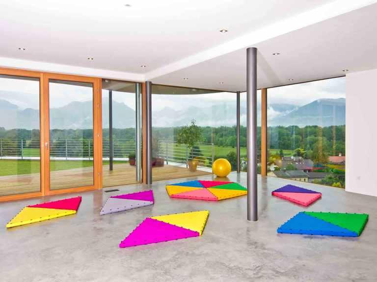 Designhaus Weitblick - Baufritz Fitnessraum