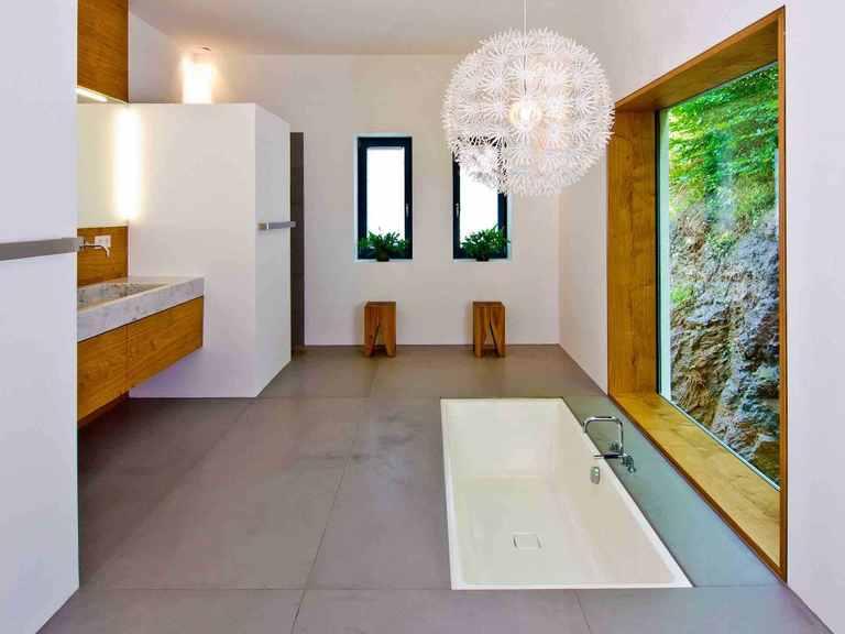 Designhaus Weitblick - Baufritz Elternbadezimmer