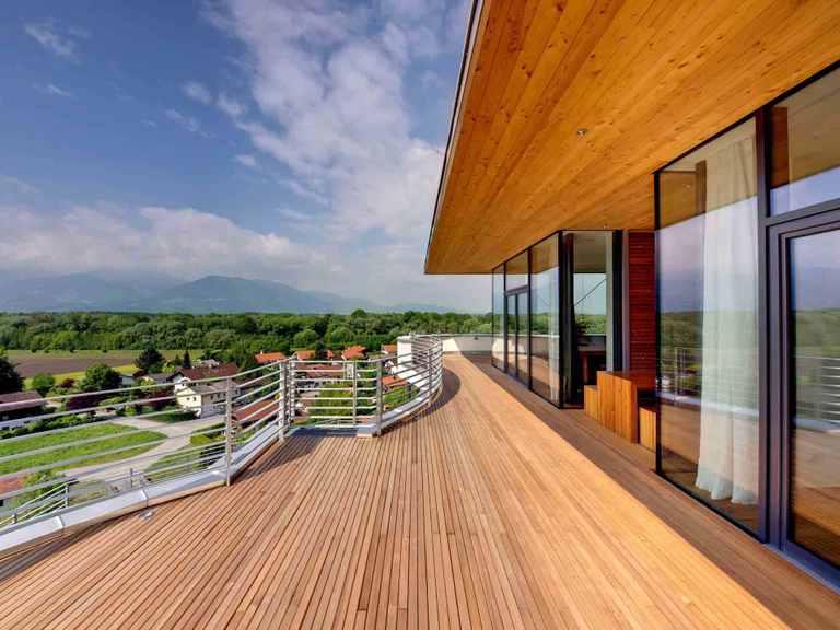 Designhaus Weitblick - Baufritz Terrasse