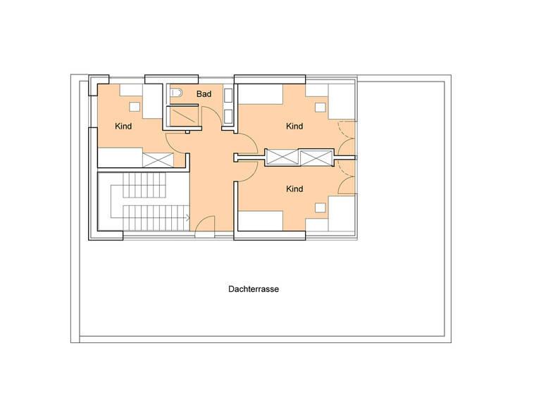 Grundriss DG Designhaus Weitblick